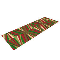 Kess Inhouse Christmas Pattern by Danny Ivan Yoga Mat