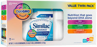 Similac® Advance® Stage 1 Infant Formula with Iron Powder 2-1.45 lb. Canisters