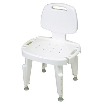 Ableware Adjustable Shower Seat - with Arms & Back