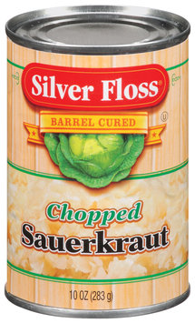 Silver Floss Chopped Sauerkraut 10 Oz Can