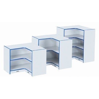 Jonti-Craft 6691JC112 Corner Storage - Super-Sized - Navy