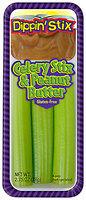 Dippin' Stix® Celery Stix & Peanut Butter 2.75 oz. Tray
