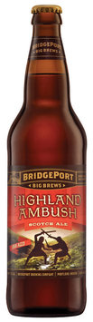 Bridgeport Big Brew Highland Ambush Beer 22 Oz Glass Bottle