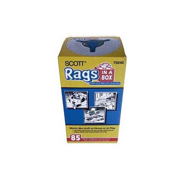 Gbgardnerbender 85 Count White Scott Rags In-A-Box