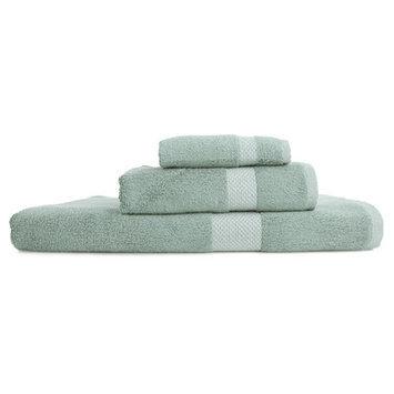Nine Space Resort 3 Piece Towel Set Color: Light Blue