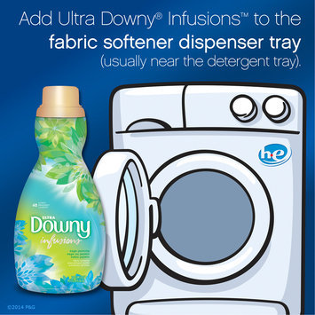 Downy® Ultra Infusions Sage Jasmine Liquid Fabric Softener