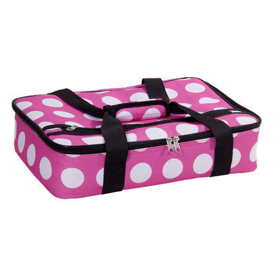 Home Essentials And Beyond Rectangular Casserole Cover Color: Pink