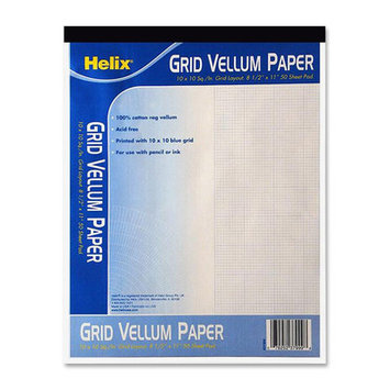 Helix 37810 Tracing Paper - 18 x 50 - White