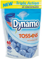 Dynamo® Toss-Ins Mountain Mist 4X Concentrated Laundry Detergent 28.2 oz. Bag