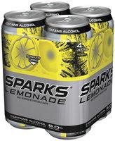 Sparks Lemonade 8.0% Alcohol By Volume 16 Oz Premium Malt Beverage 4 Pk Cans