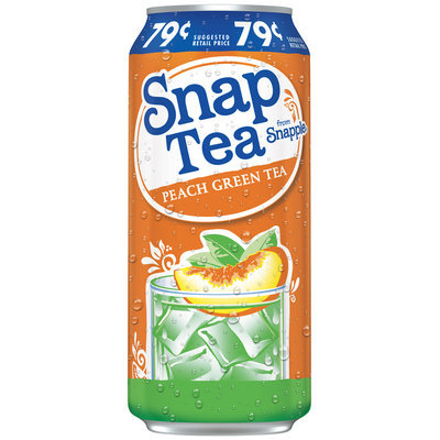 Snapple Snap Tea from Peach Green Tea