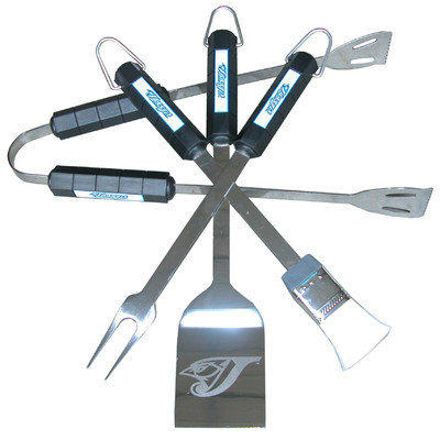 Siskiyou Products Toronto Blue Jays Four Piece Barbeque Set