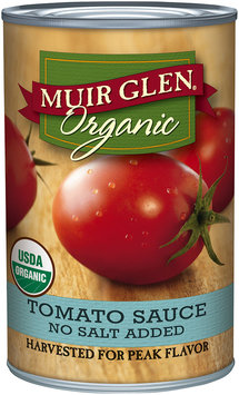 Muir Glen® Organic Tomato Sauce No Salt Added 15 oz. Can