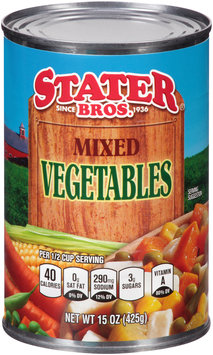 Stater Bros.® Mixed Vegetables 15 oz. Can