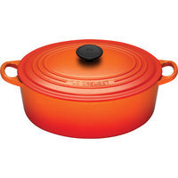Le Creuset Flame Signature Oval French Oven, 3.5 qt.