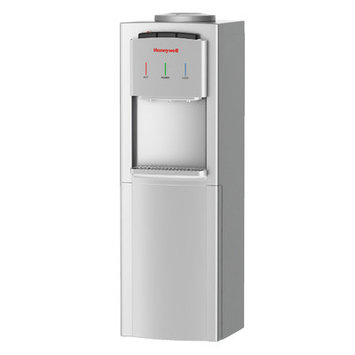 Honeywell Freestanding Water Cooler Dispenser with Thermostat Control Color: Silver