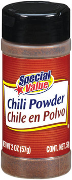 Special Value  Chili Powder 2 Oz Shaker