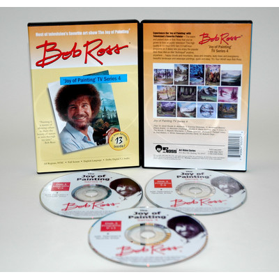Weber Art Martin - F. Weber RD0414D Ross Dvd Joy Of Painting Series 4. Featuring 13 Shows