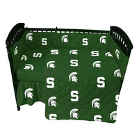 College Covers MSUCS Michigan State 5 piece Baby Crib Set