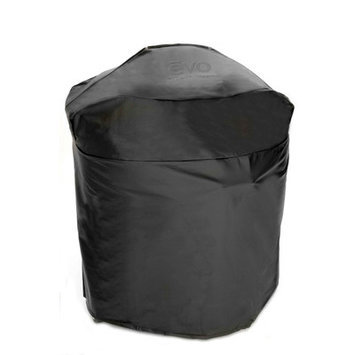 Evo Vinyl Grill Cover for Evo Professional Circular Flattop Gas Grill with Wheeled Cart