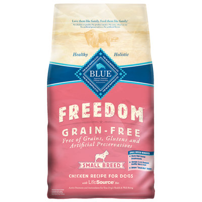 THE BLUE BUFFALO CO. BLUE™ Freedom® Grain-Free Chicken Recipe For Small Breed Adult Dogs
