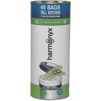 Harmonyx Trash Bags 13 gal. Tall Kitchen Trash Bags (40-Count)