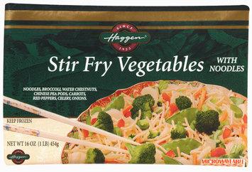 Haggen Stir Fry W/Noodles Vegetables 16 Oz Bag