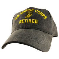 Motorhead Products US Military Logo Retired Cap Branch: Marine