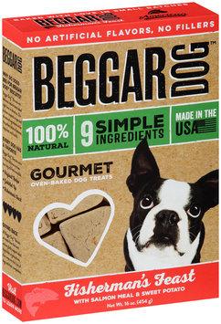 Beggar Dog™ Fisherman's Feast Gourmet Oven-Baked Dog Treats 16 oz. Box