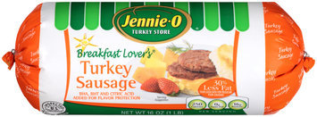 Jennie-O Breakfast Lover's Turkey Sausage 16 oz. Chub