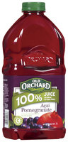 Old Orchard 100% Juice Acai Pomegranate Juice 64 Oz Plastic Bottle