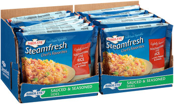 Birds Eye® Steamfresh® Chef's Favorites Southwestern Style Rice with Corn, Peppers & Onion 12 ct  Display