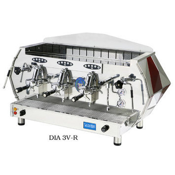 Isomac La Pavoni Diamente Volumetric Coffee Maker Color: Red