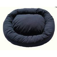 Green Living Dog Beds Green Living Eco-Friendly Bolster Dog Bed Color: Denim Blue, Size: Extra Large