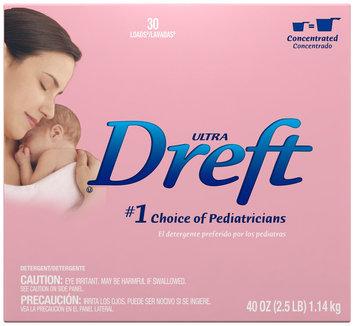 Dreft® Ultra Baby Powder Laundry Detergent 40 oz. Box