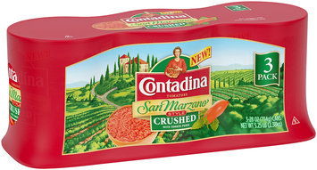 Contadina San Marzano Style Crushed Tomatoes 3-28 oz. Cans