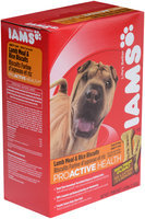 Iams® ProActive Health™ Lamb Meal & Rice Formula Dog Biscuits Dog Treats 2.6 lb. Box