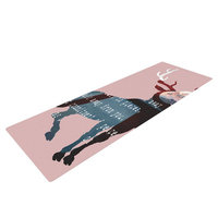 Kess Inhouse Oh Deer by Suzanne Carter Yoga Mat