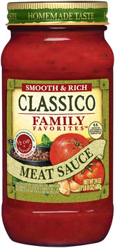 Classico Family Favorites™ Meat Sauce 24 oz. Jar