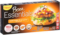 Boca Essentials Sweet Potato & Red Quinoa Veggie, Grain & Legume Protein Burgers 4 ct Box