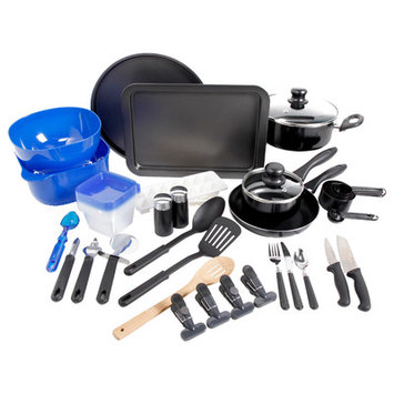 Total Kitchen 59 Piece Cookware Combo Set