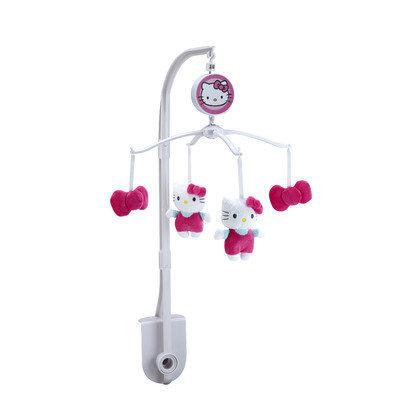 Hello Kitty Cute as a Button Musical Mobile