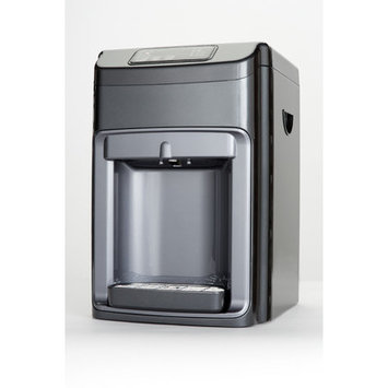 Global Water Countertop Hot and Cold and Ambient Water Cooler with Nano Filter and Reverse Osmosis