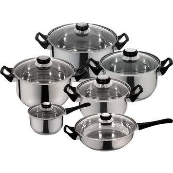 Magefesa Monterrey Stainless Steel 12-Piece Cookware Set