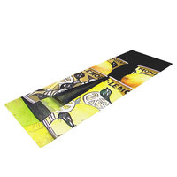 Kess Inhouse Lemonade by Rosie Brown Yoga Mat