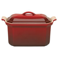 Williams Sonoma Le Creuset Heritage Stoneware Pate Terrine with Press, Red | Williams