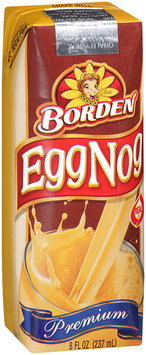 Borden® EggNog 8 fl. oz. Aseptic Pack