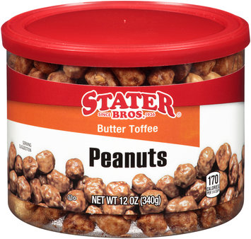 Stater Bros® Butter Toffee Peanuts 12 oz. Can
