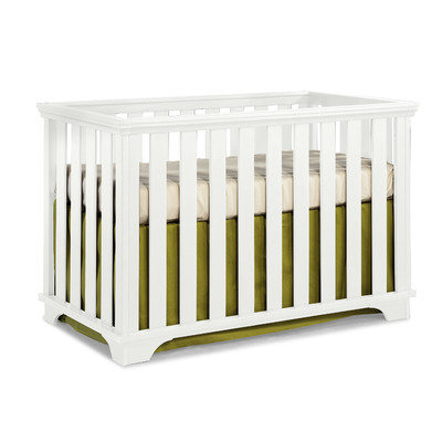Imagio Baby by Westwood Design Midtown Island Crib in White