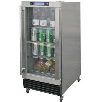 Calflame 3.25 Cu. Ft. Built-In Outdoor Beverage Cooler
